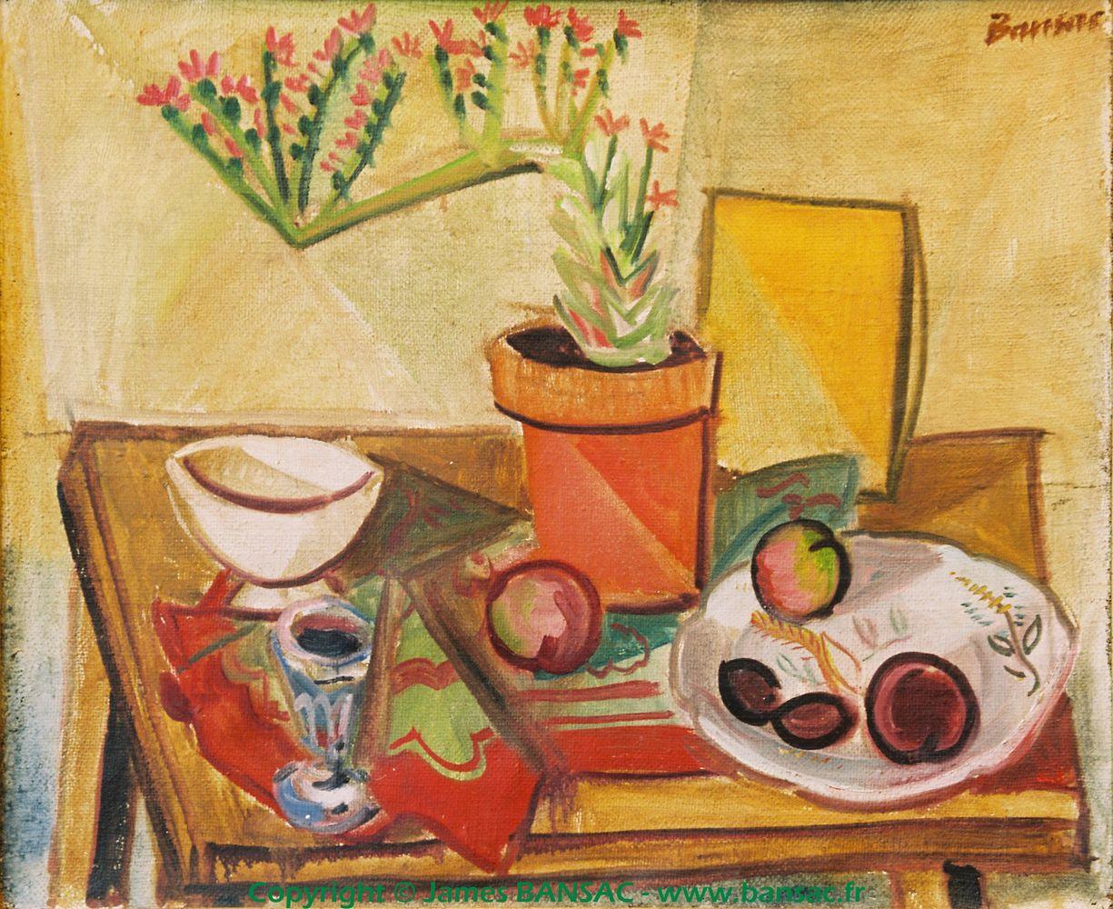 Artichaut fleuri - 1947
