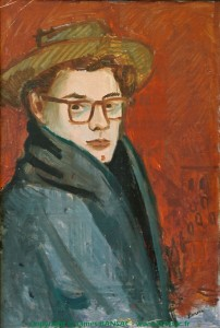 Autoportrait à Paris - 1946