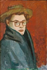 Autoportrait à Paris - 1946