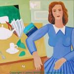 Femme accoudée - 2004