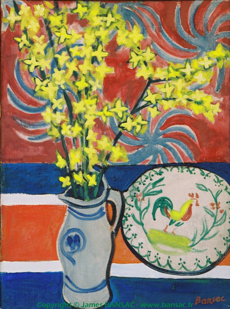 Forsythias - 1947