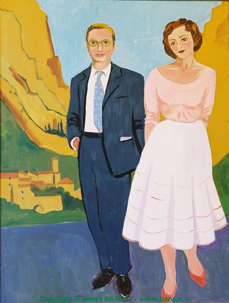 Les fiancés, Moustiers-Sainte-Marie - 2004