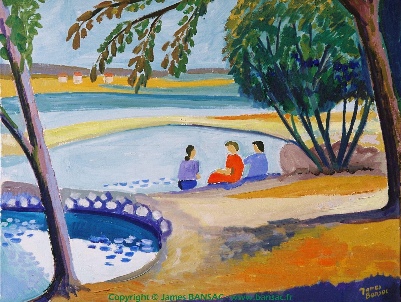 Lône sur le Rhône - 2004