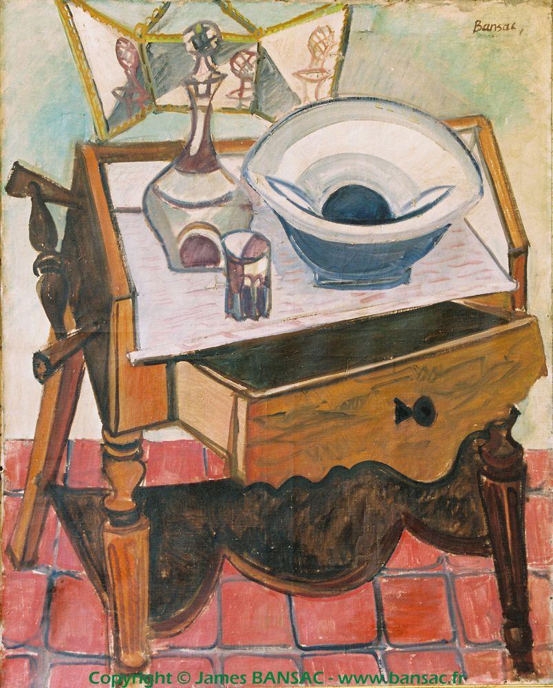 Table de toilette - 1947