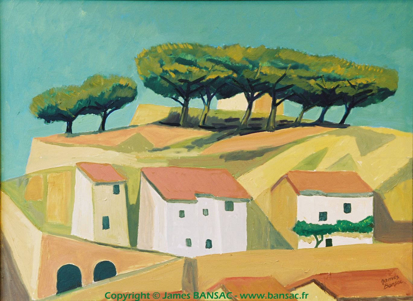 Bonnieux, Lubéron - 2004