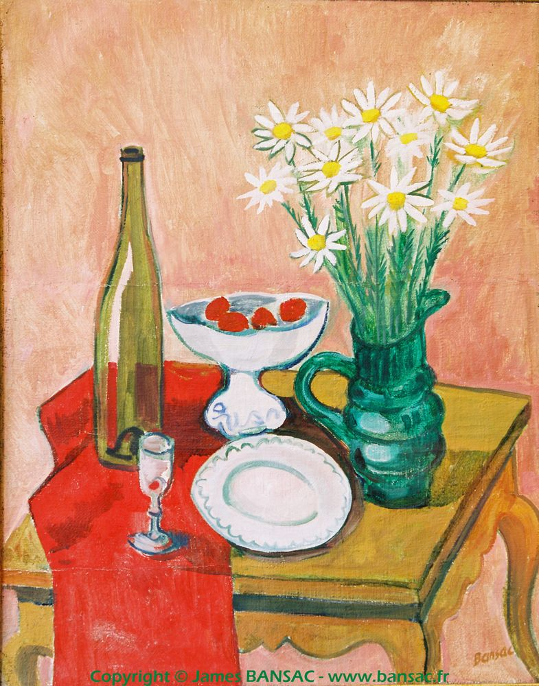 Bouquet de marguerites - 1948