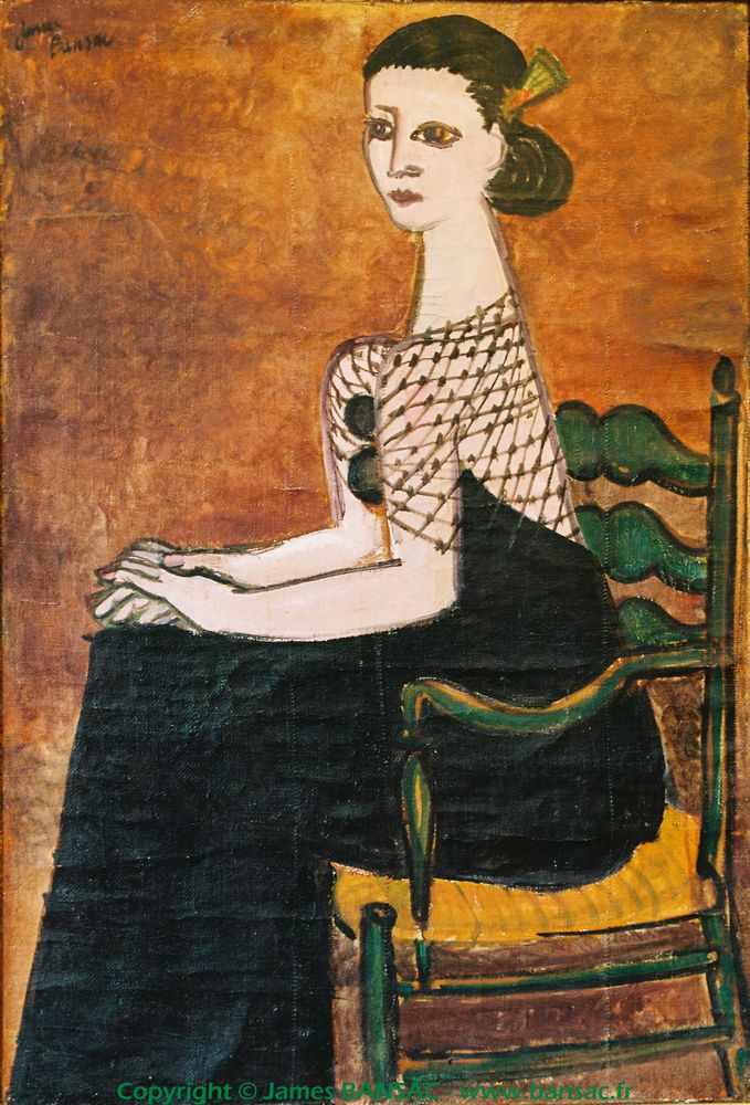 Femme à la résille - 1946