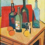 Nature morte : bouteilles - 1948