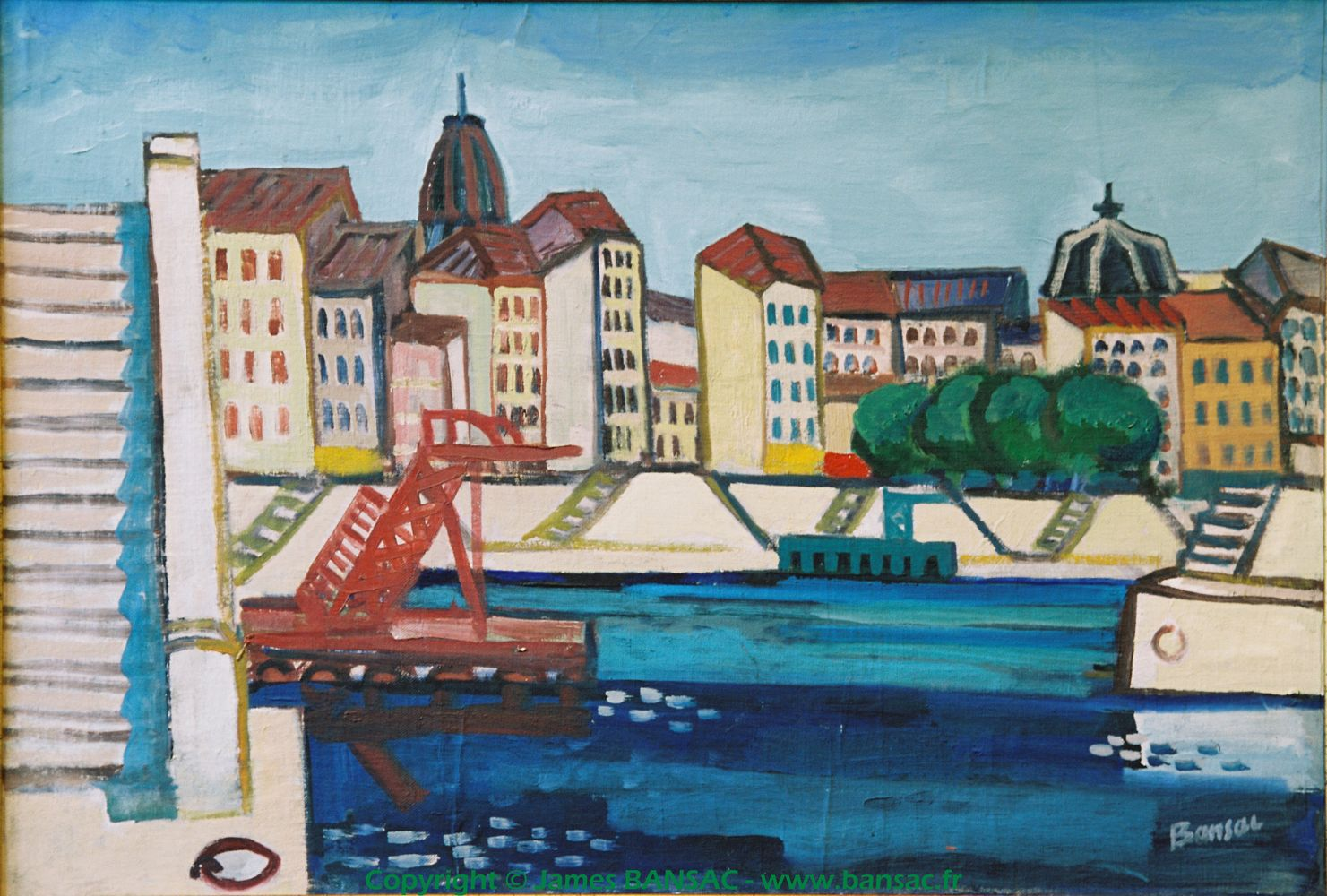 Quai St Vincent, Lyon - 1948