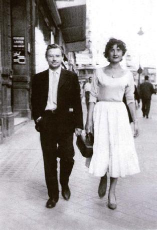 James et Malou, jeunes mariés